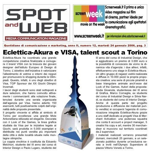 Visa Spot and Web