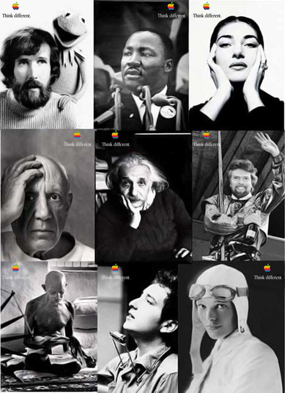Apple Think Different Adv