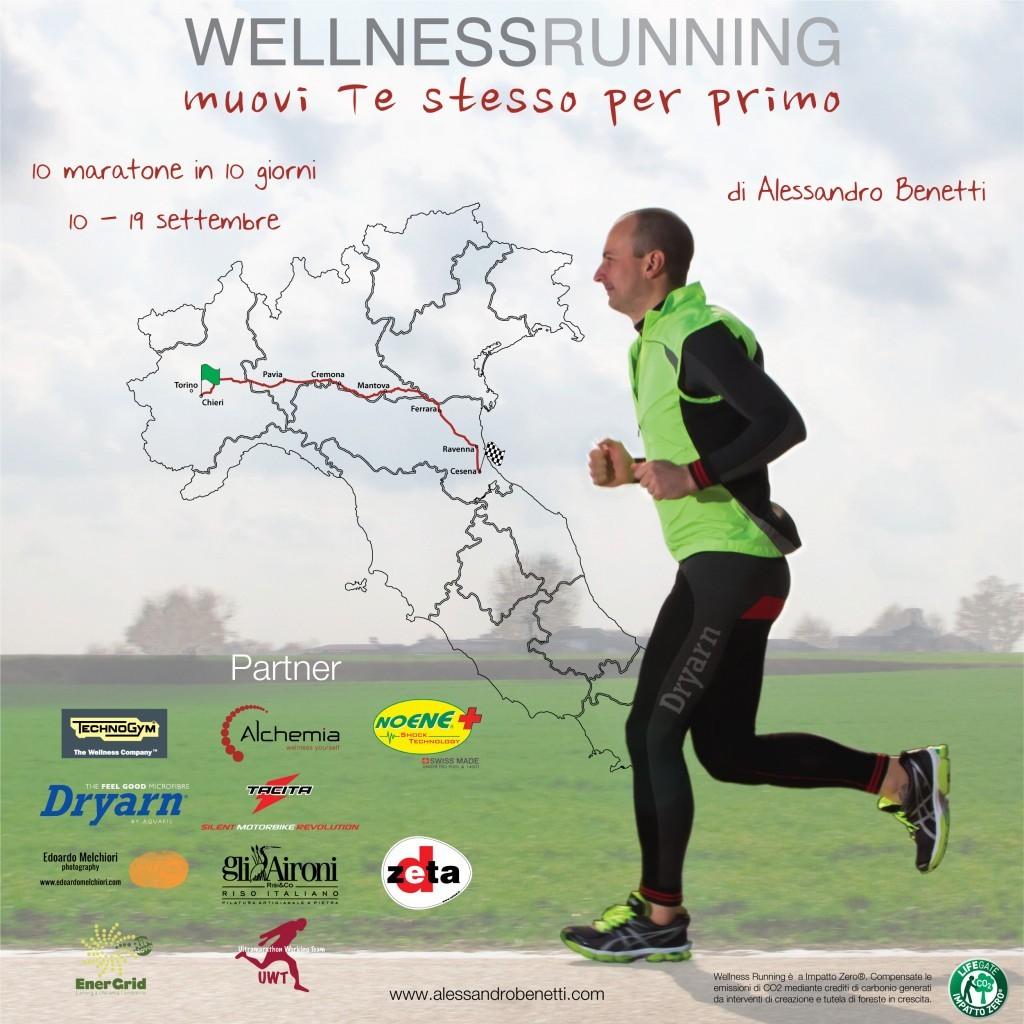 Locandina Wellness Running