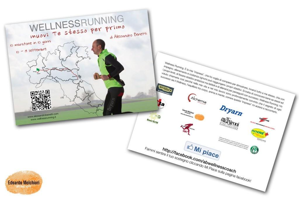 Cartoline promo Wellness Running