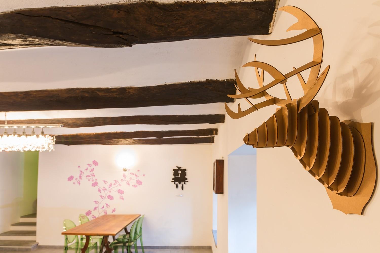 Foto di interni di una villa moderna