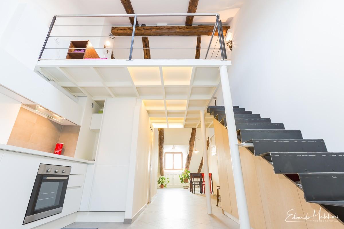 Foto di interni di un appartamento moderno