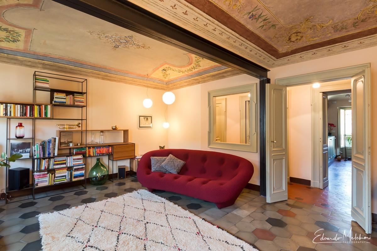 Fotografia di interni di un appartamento moderno di design